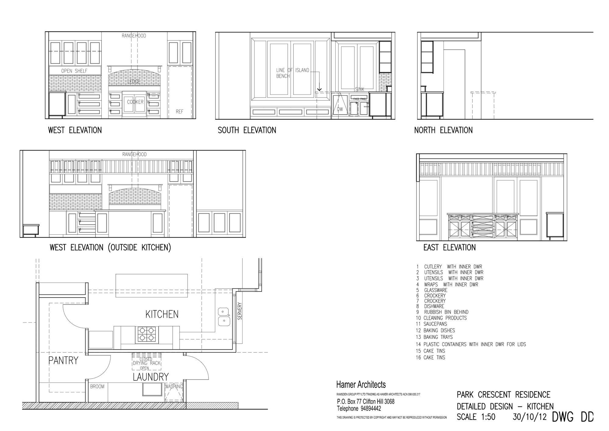Design Process Hamer Architects